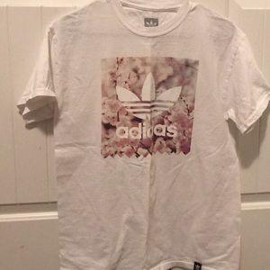 Adidas floral shirt